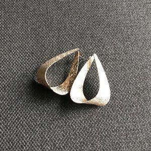 BAUBLEBAR Gold Foiled Loop Earrings